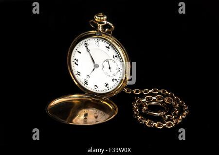 Vintage pocket watch - Stock Image