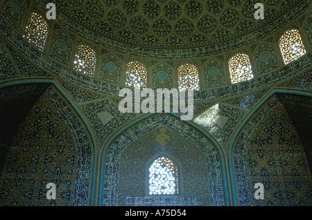 Iran Esfahan Sheikh Lotfollah Mosque - Stock Image