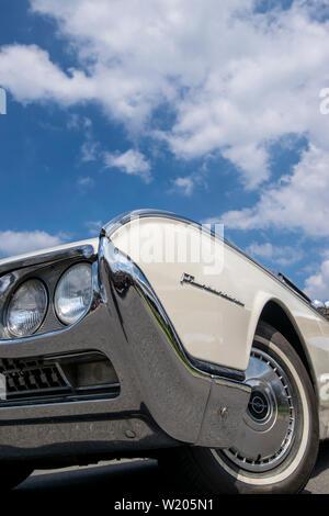 Vintage Thunderbird car - Stock Image