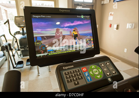 fitness room - Stock Image