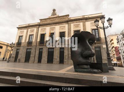 Teatro Guimera, Santa Cruz de Tenerife, Canary Islands - Stock Image