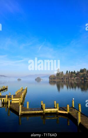 Bowness on Windermere,Lake District,Cumbria,England,UK - Stock Image