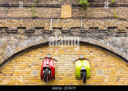Scooterworks UK on Enid Street, London, England, United Kingdom - Stock Image
