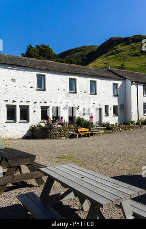 Littletown Farm in the hamlet of Littletown, Cumbria. The farm provides visitor accommodation, along with day visitor parking space and refreshments. - Stock Image