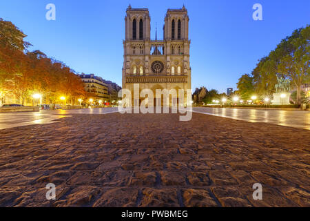 Cathedral of Notre Dame de Paris, France - Stock Image