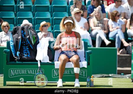 Naomi Osaka, Japanese tennis player. - Stock Image