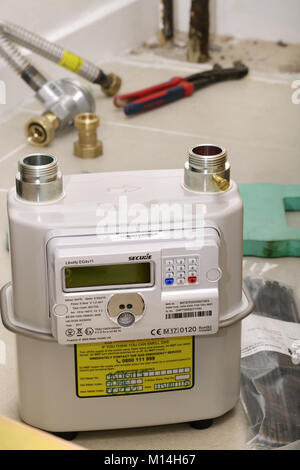 A new 'smart meter', ready for installation - Stock Image