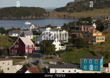 TRINITY, NEWFOUNDLAND, CANADA - August 12, 2018: The town of Trinity.  ( Ryan Carter ) - Stock Image