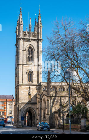 St Marys,Church,Lowgate,Kingston upon Hull,England - Stock Image