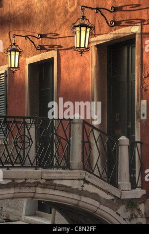 Light and shadow - Venice, Italy - Stock Image