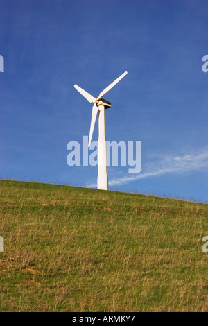 Windmills at Altamont Pass, Alameda County, California, USA - Stock Image