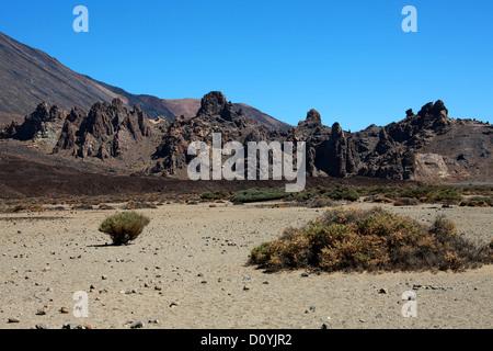 Mount Teide Crater, Tenerife, Canary Islands. - Stock Image