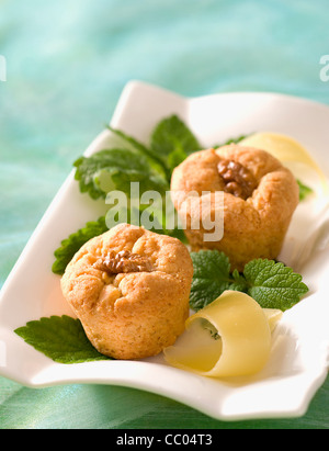Cheese Cookies - Stock Image
