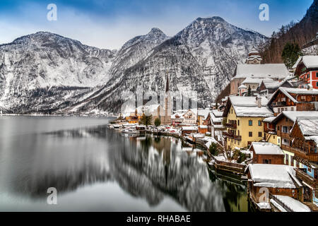 Hallstatt, Upper Austria, Austria - Stock Image