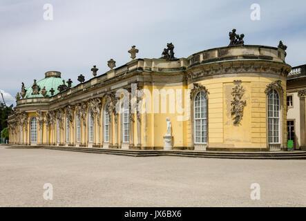 Sanssouci Palace Potsdam Germany - Stock Image