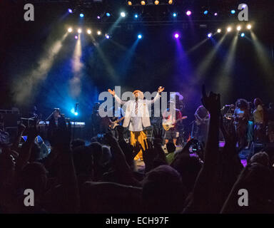 George Clinton performing live in London UK - Stock Image