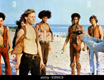 THE WARRIORS [?], DEBORAH VAN VALKENBURGH, MICHAEL BECK, BRIAN TYLER, DAVID HARRIS, [?] - Stock Image