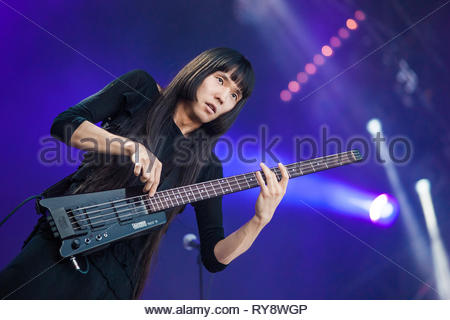 BO NINGEN performing live, 13 july 2015 - Stock Image