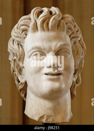 Satyr Arles Louvre Ma677 - Stock Image