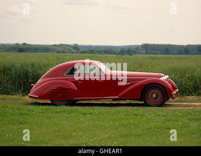 1939 Alfa Romeo 8C 2900B Lungo Berlinetta 3 0 litre supercharged Inline 8 engine developing 180bhp Country of origin - Stock Image