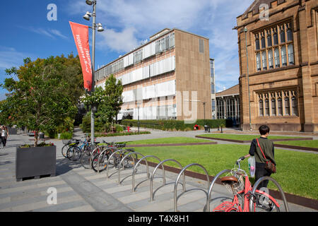 University of Sydney campus in Camperdoen Sydney,Australia, country oldest university - Stock Image