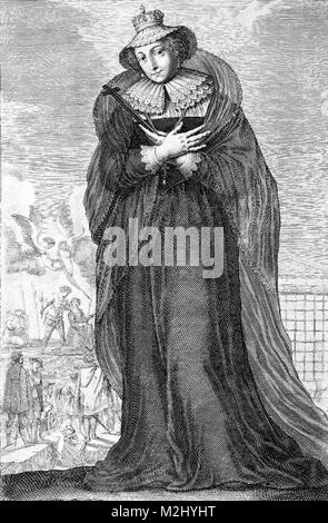 Mary, Queen of Scots - Stock Image