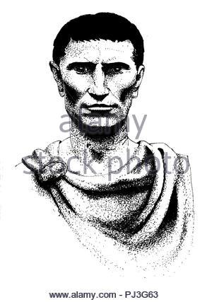Julius Caesar - Stock Image
