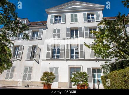 France, Ile de France, Paris, 18th district, La Folie Sandrin, Montmartre - Stock Image