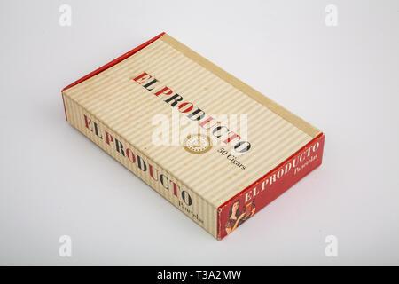 El Producto Cigar Box - Stock Image
