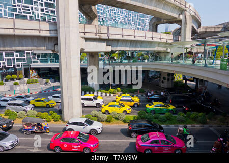 Siam Square, Pathum Wan district, Bangkok, Thailand - Stock Image