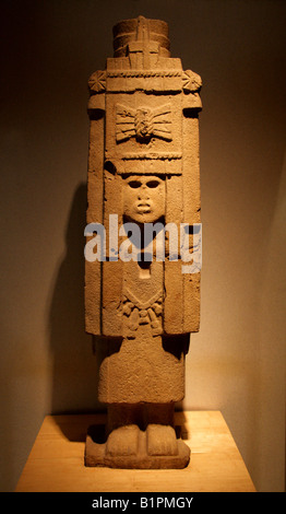 Pre-Columbian Art from Chicayan Ozuluama Veracruz Gulf of Mexico in the National Museum of Anthropology Chapultepec - Stock Image