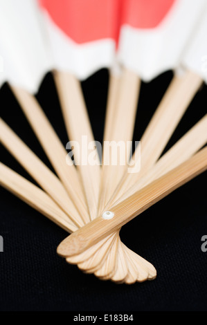 Handle of a Japanese fan - Stock Image
