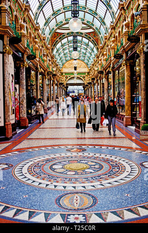 Victoria Quarter Shopping Mall Leeds, England - Stock Image