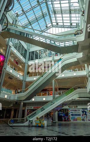 Princes Quay,Shopping Centre,Hull,England - Stock Image