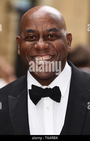 LONDON, UK. April 28, 2019: Ainsley Harriott at the BAFTA Craft Awards 2019, The Brewery, London. Picture: Steve Vas/Featureflash - Stock Image