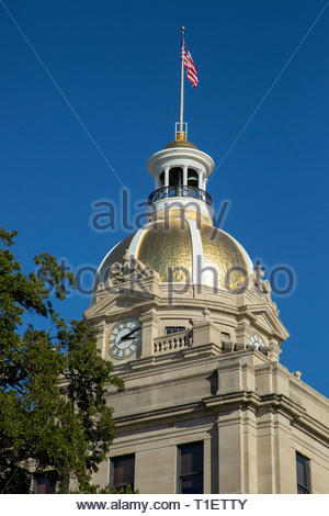 City Hall Building, Savannah, Georgia - Stock Image