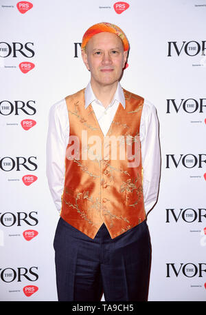 Django Bates during the Annual Ivor Novello Songwriting Awards at Grosvenor House in London. - Stock Image