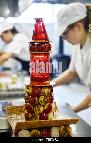 French pastry students - Paris - France - Stock Image