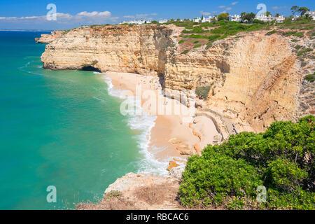 Rocha beach, Portimao, Algarve, Portugal, - Stock Image