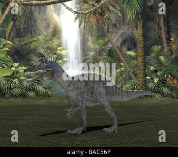 dinosaur Suchomimus - Stock Image
