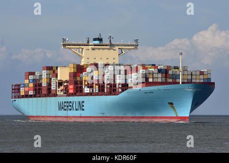 Emma Maersk - Stock Image