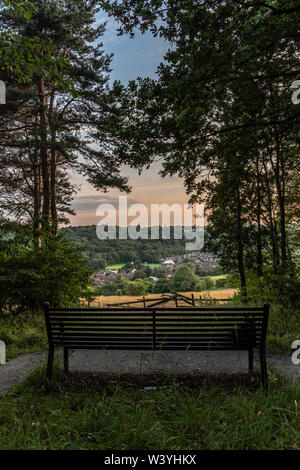 A Seat With A View - Stock Image