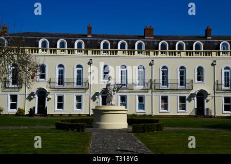 Luxury apartments at Watermead, Aylesbury, Buckinghamshire, UK - Stock Image