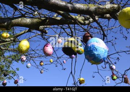 Easter Tree - Stock Image