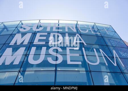 Science & Media Museum exterior, Bradford, West Yorkshire - Stock Image