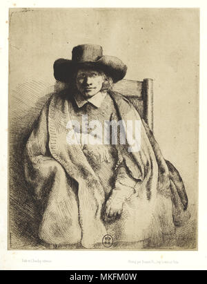 Clement de Jonghe by Rembrandt - Stock Image