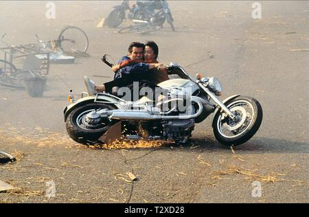 PIERCE BROSNAN, MICHELLE YEOH,  TOMORROW NEVER DIES, 1997 - Stock Image
