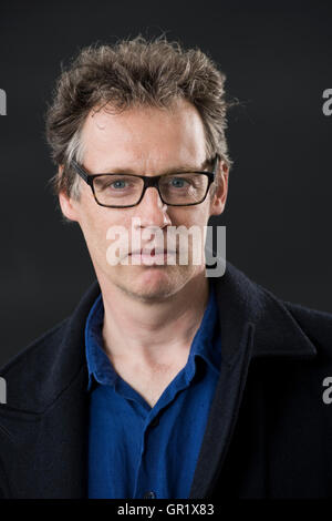 Author and screenwriter Alexander Masters. - Stock Image