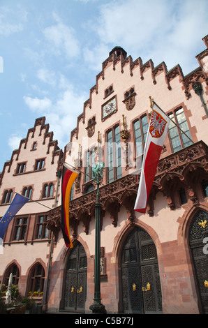 Frankfurt City Hall Rathaus - Stock Image