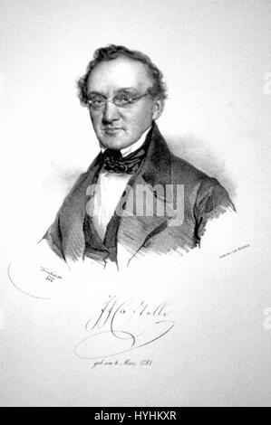 Castelli 1842 Litho - Stock Image